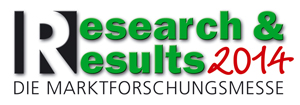 Logo der Research & Results 2014