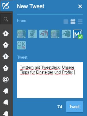 21 Tweetdeck Tipps: Twittern mit mehreren Accounts