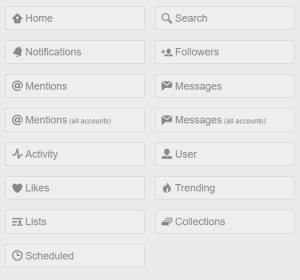 21 Tweetdeck Tipps: Spaltentypen