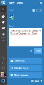 21 Tweetdeck Tipps: Twittern ganz einfach