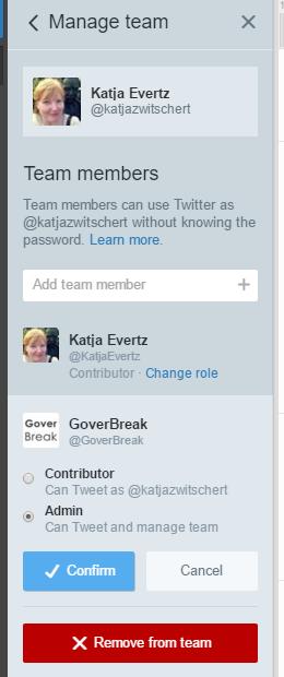 21 Tweetdeck Tipps: Teams verwalten