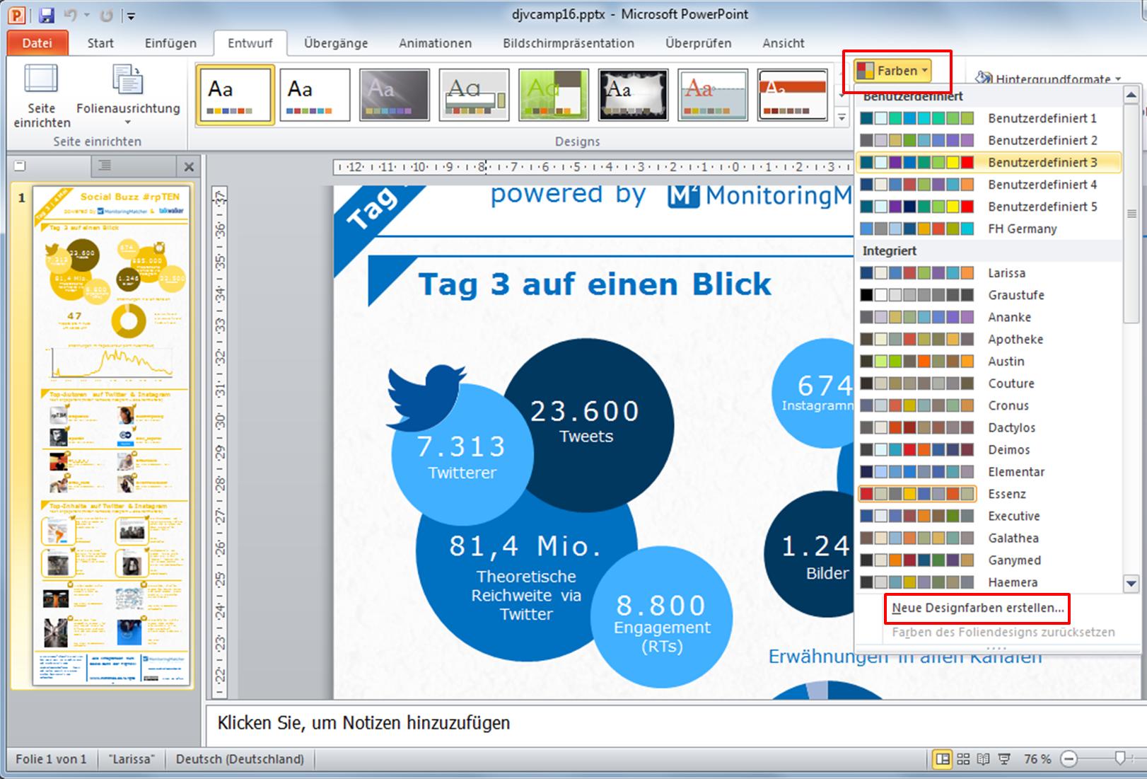 Infografiken Mit Powerpoint Und Anderen Tools Erstellen