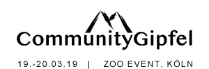 CommunityGipfel #communitygipfel am 19.-20.03.18 in Köln